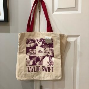 NWT Taylor Swift 'Red' Tote Bag